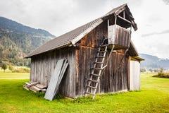 Austrian barn Royalty Free Stock Photography