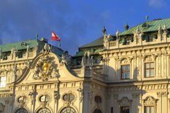 Austrian baroque palace Stock Image