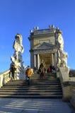 Austrian beautiful palace Royalty Free Stock Image