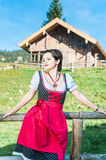 Austrian Beauty in the Alps Stock Photo