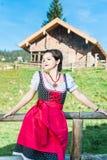 Austrian Beauty in the Alps Stock Photo