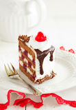 Austrian Black Forest cake. Stock Photography