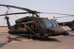Austrian Blackhawk helicopter Stock Image