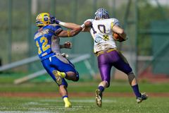 Austrian Bowl XXV - Graz Giants vs. Vienna Vikings Royalty Free Stock Images