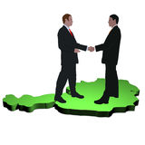 Austrian business meeting Stock Images