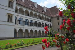 Austrian castle schloss seggau Royalty Free Stock Photography