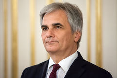 Austrian Chancellor Werner Faymann Royalty Free Stock Photography