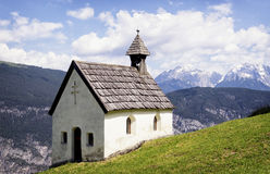 Austrian chapel Royalty Free Stock Photos