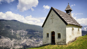 Austrian chapel Royalty Free Stock Photography