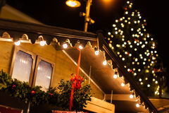 Austrian Christmas Market Royalty Free Stock Images