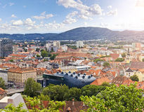 The Austrian city Graz royalty free stock photography