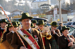 Austrian concert band Stock Image