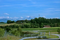 Austrian countryside Royalty Free Stock Photo
