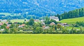 Austrian countryside, Austria Royalty Free Stock Photos