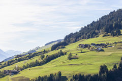 Austrian countryside landscape Royalty Free Stock Photography