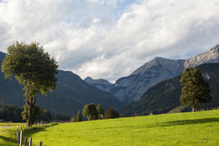 austrian countryside landscape Royalty Free Stock Images