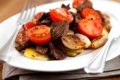 Austrian Dinner Stock Image