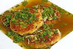 Austrian dumpling specialty Stock Images
