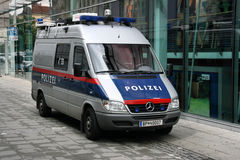 Austrian Federal Police Royalty Free Stock Photo