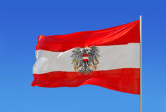 Austrian flag Stock Images