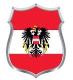 Austrian flag Stock Images