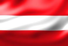 Austrian flag Royalty Free Stock Photo