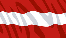 Austrian flag Royalty Free Stock Photo