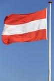 Austrian flag Stock Photos