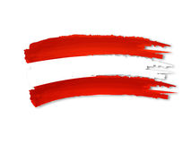 Austrian flag drawing Stock Photo
