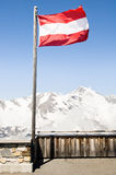 Austrian flag Stock Image