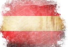 Austrian flag Stock Photography