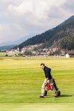 Austrian golf course Stock Photo