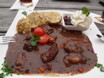 Austrian Goulash Royalty Free Stock Photography
