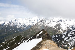 Austrian Grossglockner Mountain, Carinthia Stock Images