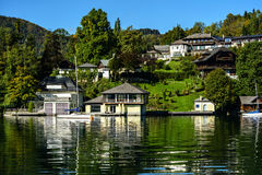 Austrian lake Royalty Free Stock Images