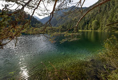 At the Austrian lakes Royalty Free Stock Images