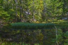 At Austrian lakes Stock Photography