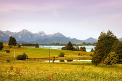 Austrian landscape Stock Photo