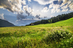 An austrian landscape Royalty Free Stock Photo
