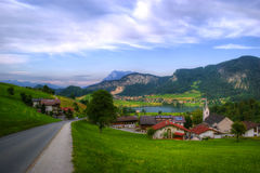 Austrian landscape, Europe Royalty Free Stock Images