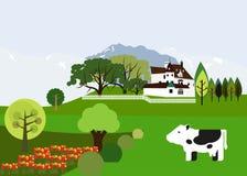 Austrian landscape Royalty Free Stock Images