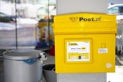 Austrian mailbox Stock Images