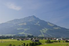 Austrian mountain landscape Royalty Free Stock Photo