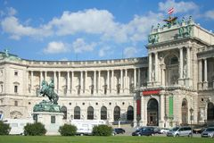 Austrian National Library Royalty Free Stock Photo