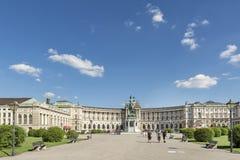 Austrian National Library, Vienna, Austria Stock Photo