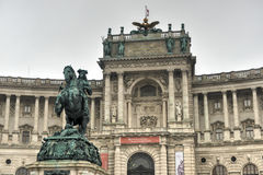Austrian National Library - Vienna, Austria Stock Images