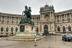 Austrian National Library - Vienna, Austria Stock Photo