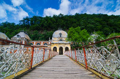 Austrian Old Historic Spa In Baile Herculane Royalty Free Stock Photos