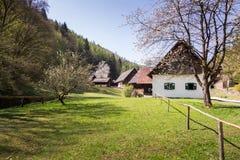 Austrian Open Air Museum Stübing Stock Photos