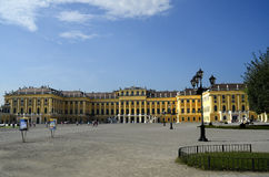 Austrian Palace. Image of the Schoenbrunn Palace, the summer estate of Hapsburg royalty Royalty Free Stock Photography